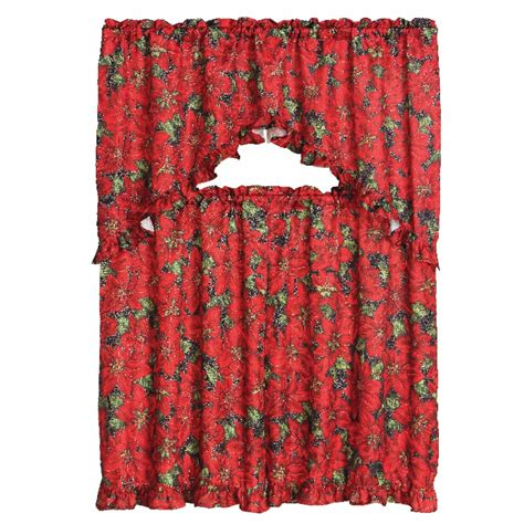 decorative curtains drapes 3 decorative kitchen curtain set ruffled