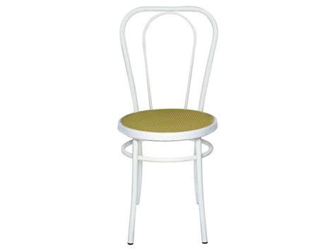canapé en cuir chaise bistro coloris blanc vente de chaise conforama