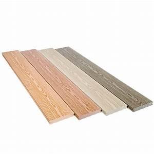 Lame De Terrasse Composite Longueur 4m : lame de terrasse en bois composite finition structur e en 4 coloris lame el gance structur e ~ Melissatoandfro.com Idées de Décoration