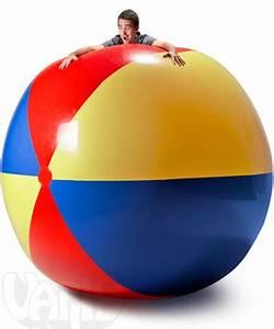 9-Foot Beach Ball: Gigantic blow-up beach ball