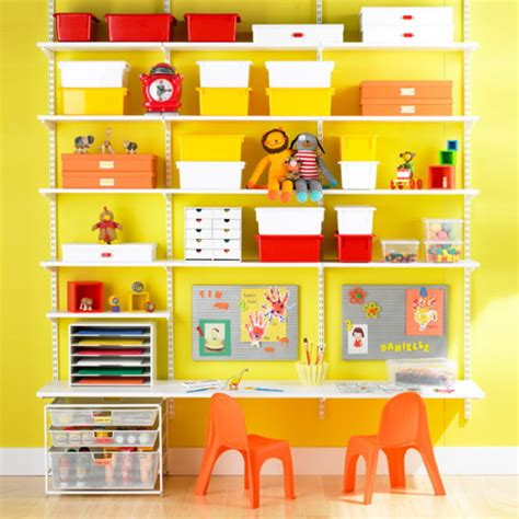 kids desk with shelves furniture fashionthe elfa wall mounted shelf storage