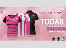 Puma unveils Project Pink Monterrey, Club Atlas and Santos