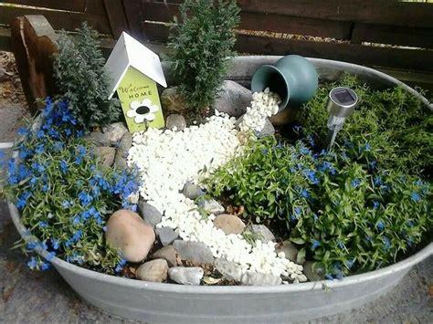 garten bepflanzen ideen dekorierte zinkwanne garten zinkwanne bepflanzen garten und garten deko