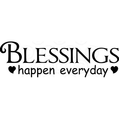 blessings happen everyday zimmermans creations