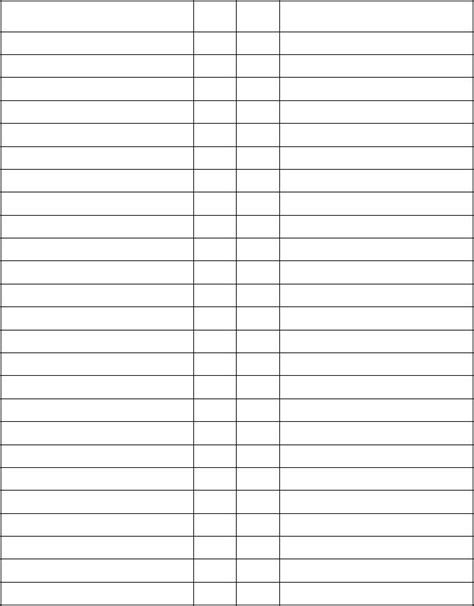 blank template  table  contents student turn