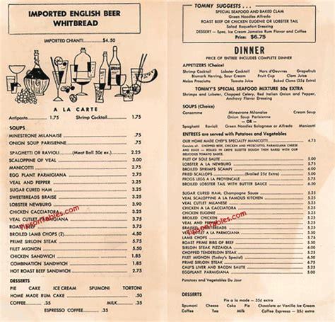 Kitchen Capers Menu by Kitchen 1957 Vintage New York