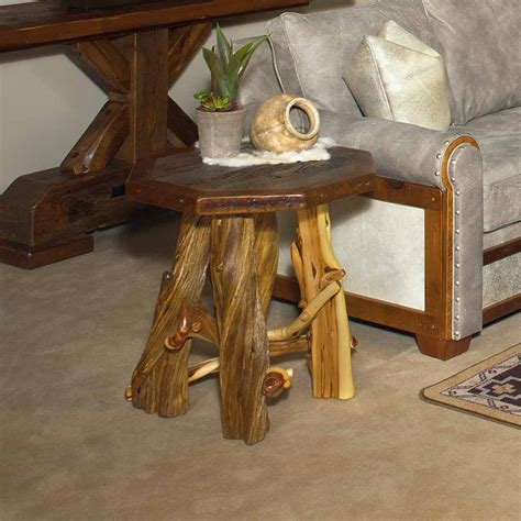 barn wood tables for silverton reclaimed barn wood octagon end table