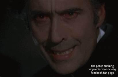 Lee Gifs Hammer Cushing Dracula Christopher 1972
