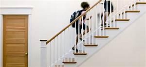 escalier ooreka With peindre escalier bois en blanc 8 realisations descalier en bois choisir son escalier sur