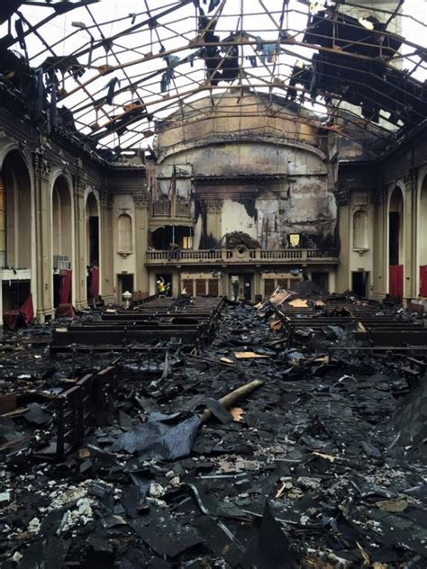 fire damaged church   saved    long