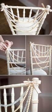 chairs for weddings 7 charming diy wedding decor ideas we tulle chantilly wedding