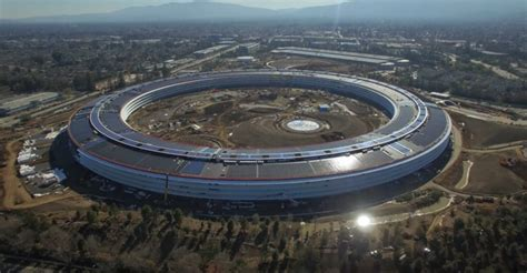 Apples Headquarters New Pictures by Apple S Spaceship Cus 2 To Officially Be Known As