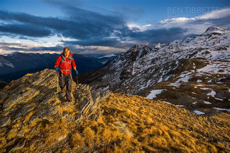 Autumn Hiking Bernina Alps Ben Tibbetts Guiding