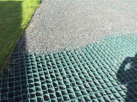 driveway plastic grid paving systems  gravel  stone