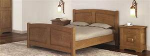 chambre a coucher en bois et rangements meubles bois massif With chambres a coucher en bois