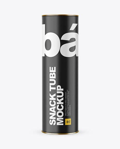 It contains everything you need to create a realistic look for your project. Matte Tube Mockup FrontView Download Matte Tube Mockup ...