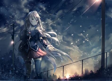 Anime Snow Wallpaper - anime anime ia vocaloid vocaloid snow