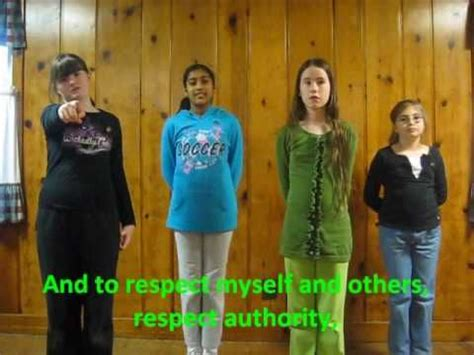 Girl Scout Law Song YouTube
