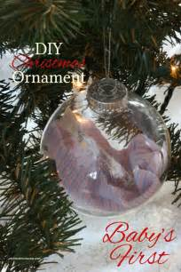 diy christmas ornaments baby s first midwestern moms