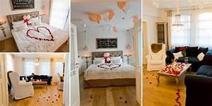 Schlafzimmer Romantisch Dekorieren : zimmer romantisch dekorieren tipps und deko hochzeitssuite ~ Markanthonyermac.com Haus und Dekorationen
