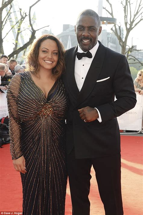 jessica unforgotten actress bafta tv awards sees idris elba put on a loved up display