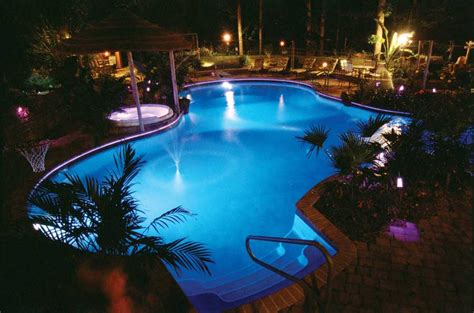 swimming pool led lights endless choices make pool ownership a reality