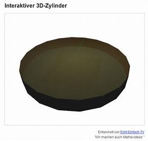 Kreiszylinder Berechnen : zylinder die gesuchten gr en eines zylinders berechnen aus mantelfl che und radius mathelounge ~ Themetempest.com Abrechnung