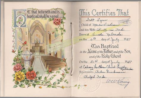 bbaptismal certificates template printable