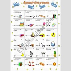 Demonstrative Pronouns This, That, These, Those (140211)  Esl Worksheet By Manuelanunes3