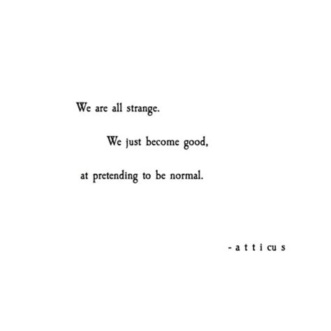 atticus poems  honestly   single person