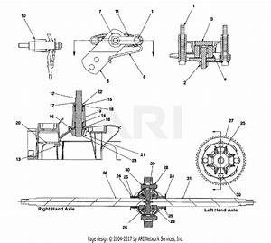 Mtd 14as820h352  2002  Parts Diagram For Differential  U0026 Axle