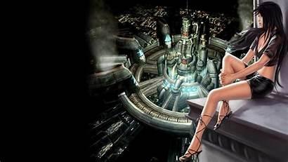 Fantasy Final Tifa Vii Wallpapers Midgar Backgrounds