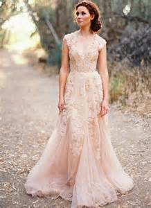 country style wedding dresses blush lace wedding dresses 2015 a line bridal gowns vintage country garden wedding dresses