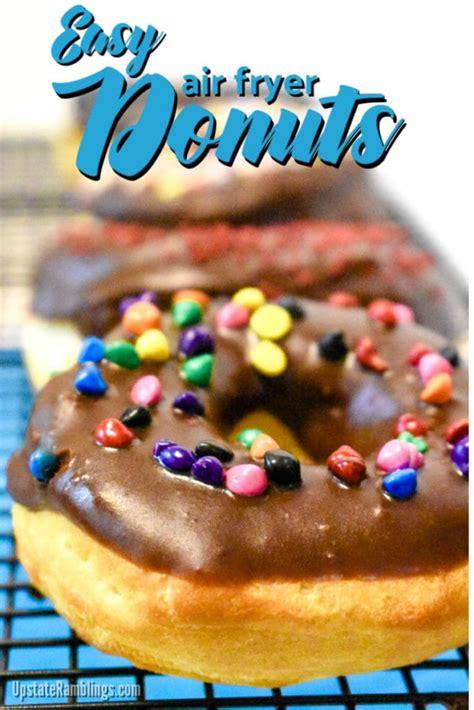 fryer air donuts easy chocolate glaze dessert recipe quick biscuits
