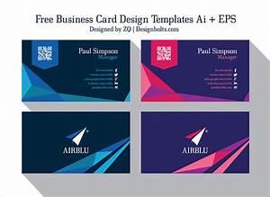 2 free professional premium business card design templates for Professional business card templates free