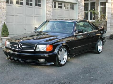 Mercedes-benz 500 Sec Technical Details, History, Photos