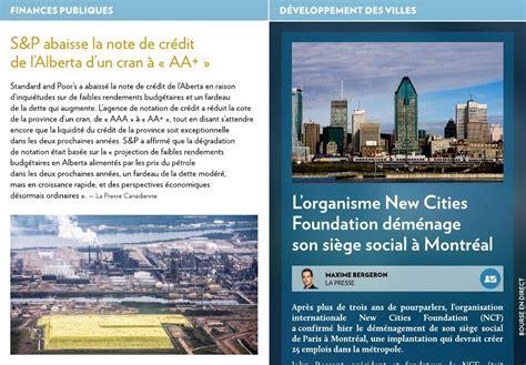 cities foundation emménage à montréal la presse
