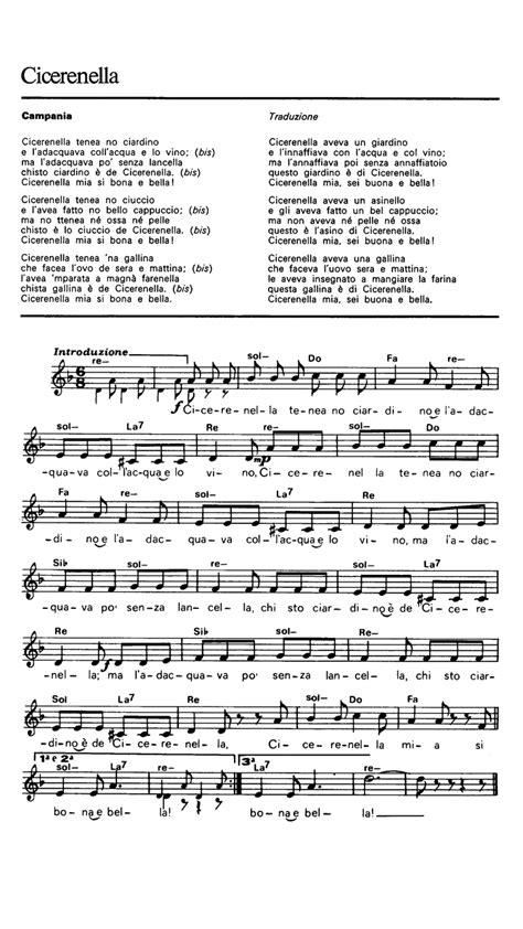 Testo Cicirinella Teneva Teneva by Cicerenella Sheet Guitar Chords Lyrics Easy