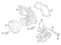 Ford Escape Pump Assembly Water