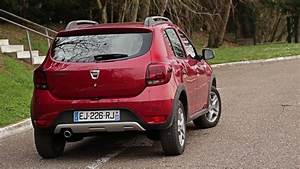 Essai Dacia Sandero Stepway : essai dacia sandero dci 90ch stepway easy r youtube ~ Gottalentnigeria.com Avis de Voitures