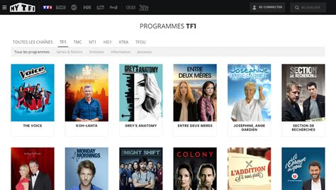 tf1 replay cuisine tf1 direct gratuit sans inscription regarder tf1 en live