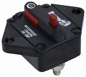 Buyers Products Circuit Breaker W Manual Push