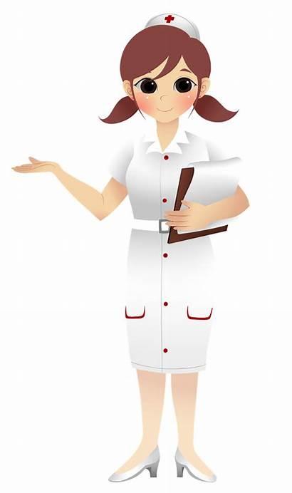 Nurse Clip Clipart Cartoon Nursing Hospital Cliparts