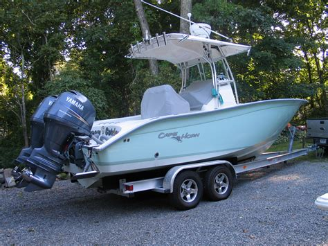 Cape Horn Boats For Sale In Nc by 2008 Cape Horn 24 Os For Sale The Hull Boating