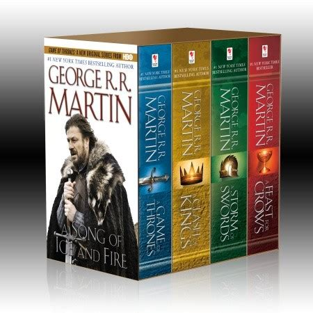 A Song of Ice and Fire Box Set (Books 1-4) | George R.R