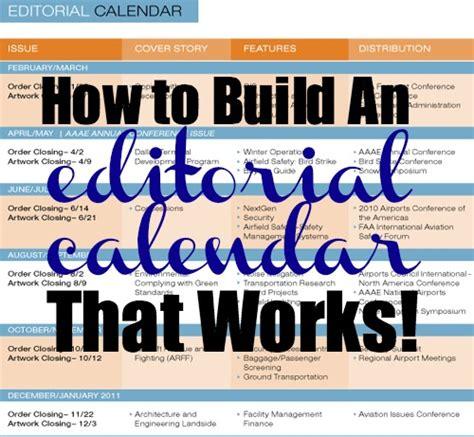 editorial calendar    template   blog