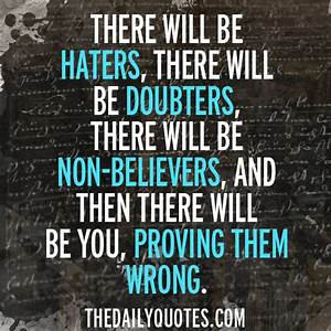 Inspirational Quotes For Haters. QuotesGram