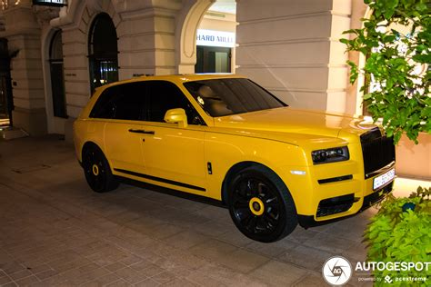 Hacer un vehículo de lujo, que sea capaz de llegar donde llega el nuevo cullinan y. Rolls-Royce Cullinan - 12 januari 2020 - Autogespot