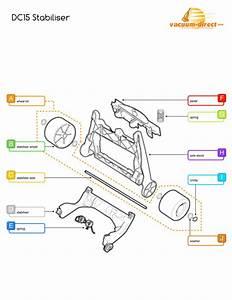 Vacuum Parts  Dyson Vacuum Parts Diagram