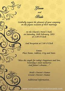 wedding invitation designs templates google search With examples of wedding reception cards wording